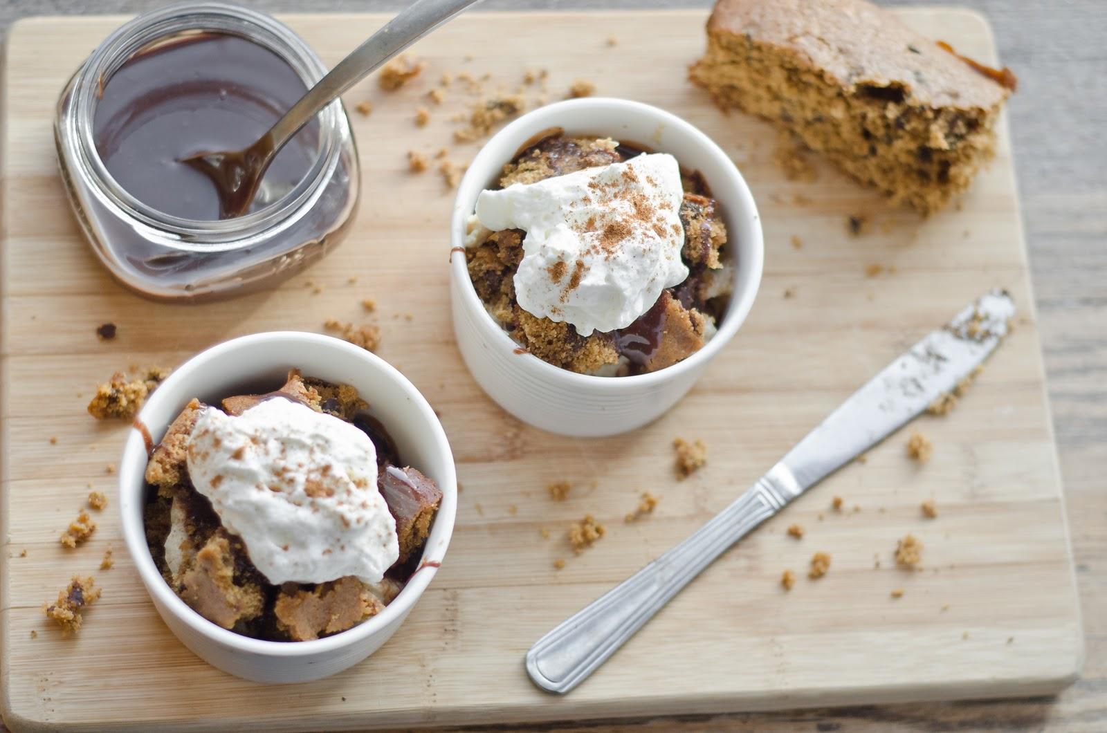 Gingerbread Trifle with Cinnamon Custard - The Fig Tree