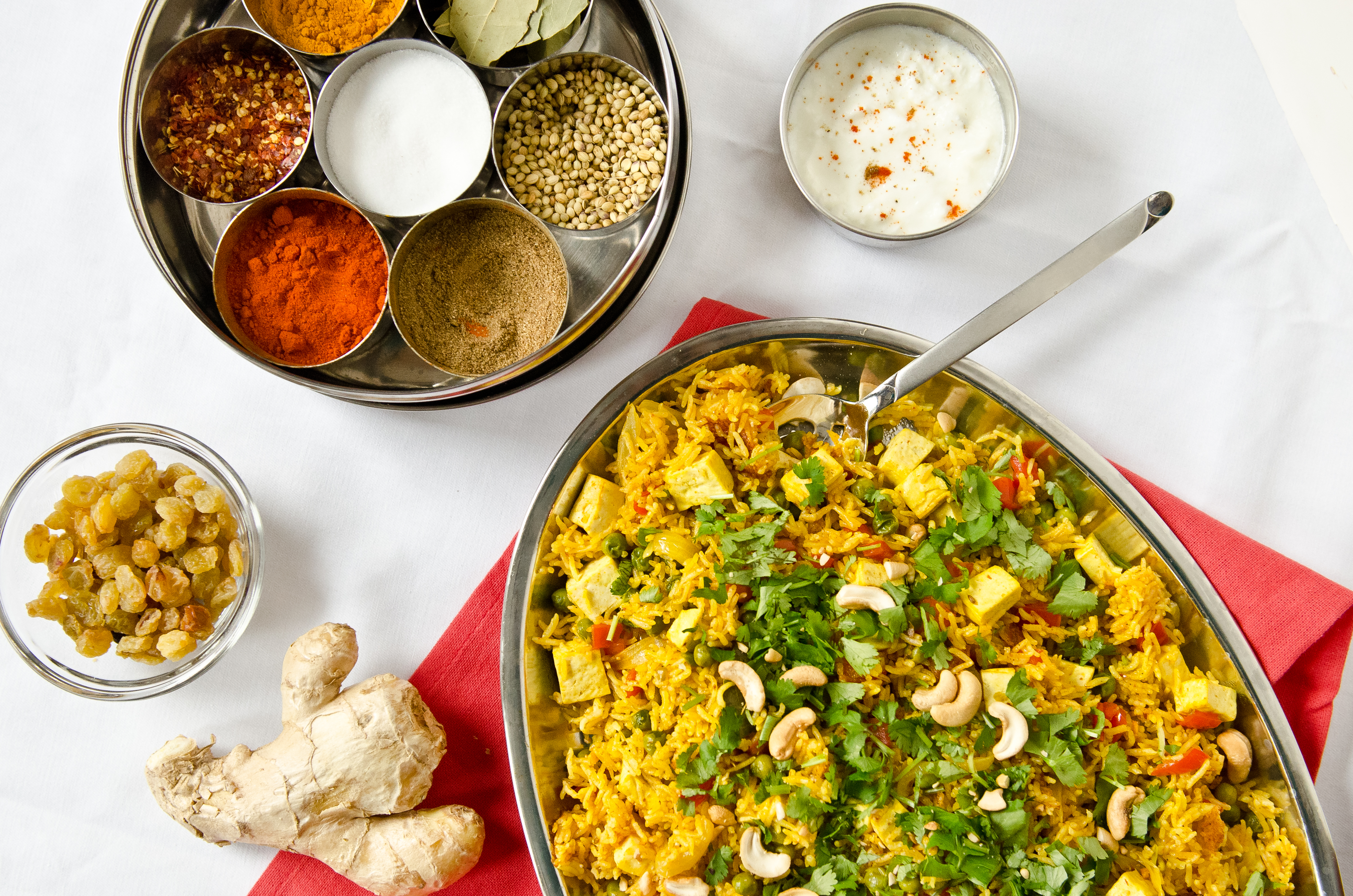 Indian spiced briyani with tofu the fig tree a few months back i was lucky enough to meet a fellow winnipegger and food blogger nita sharda from carrots cake not only is nita a fabulous cook forumfinder Choice Image