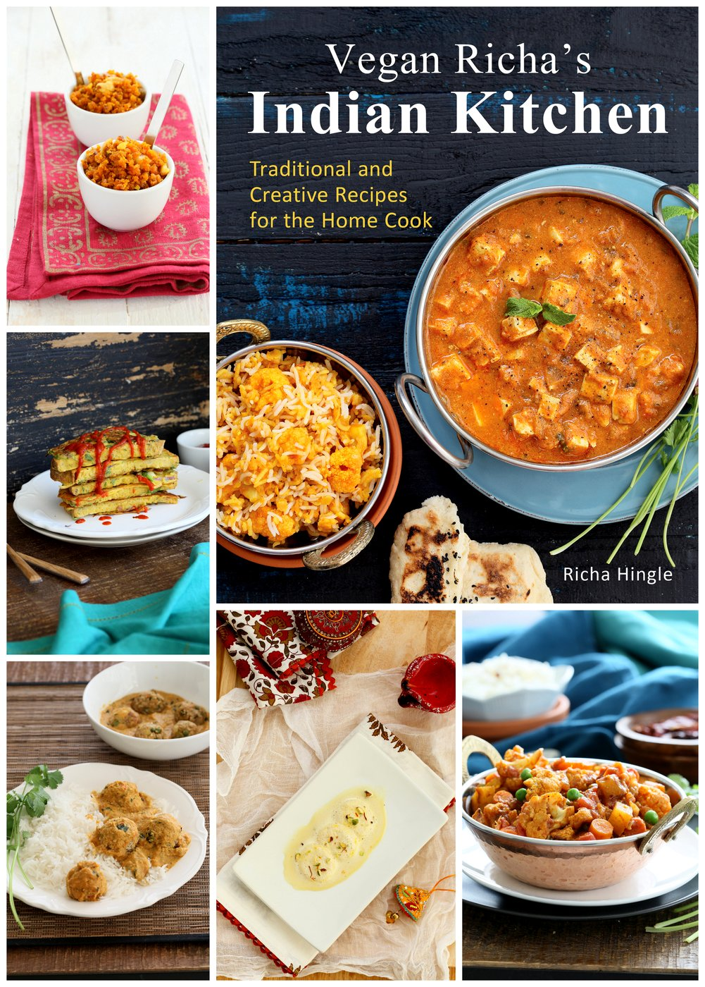 Vegan richas indian kitchen the fig tree richa takes the reader on a personal journey through her heart felt introduction and the recipes in her book vegan richas indian cooking forumfinder Images