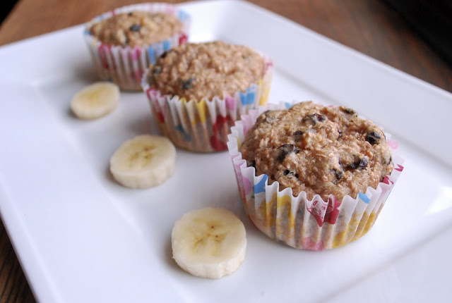 Banana Bran Muffins Low Fat 105