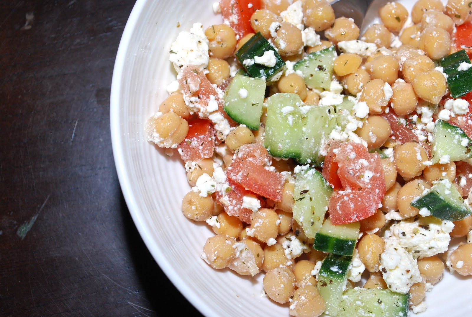 greek style chickpea salad chickpeas are so nutritious greek style ...