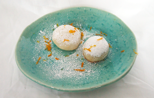 Orange Snowball Cookies Guest Post The Fig Tree