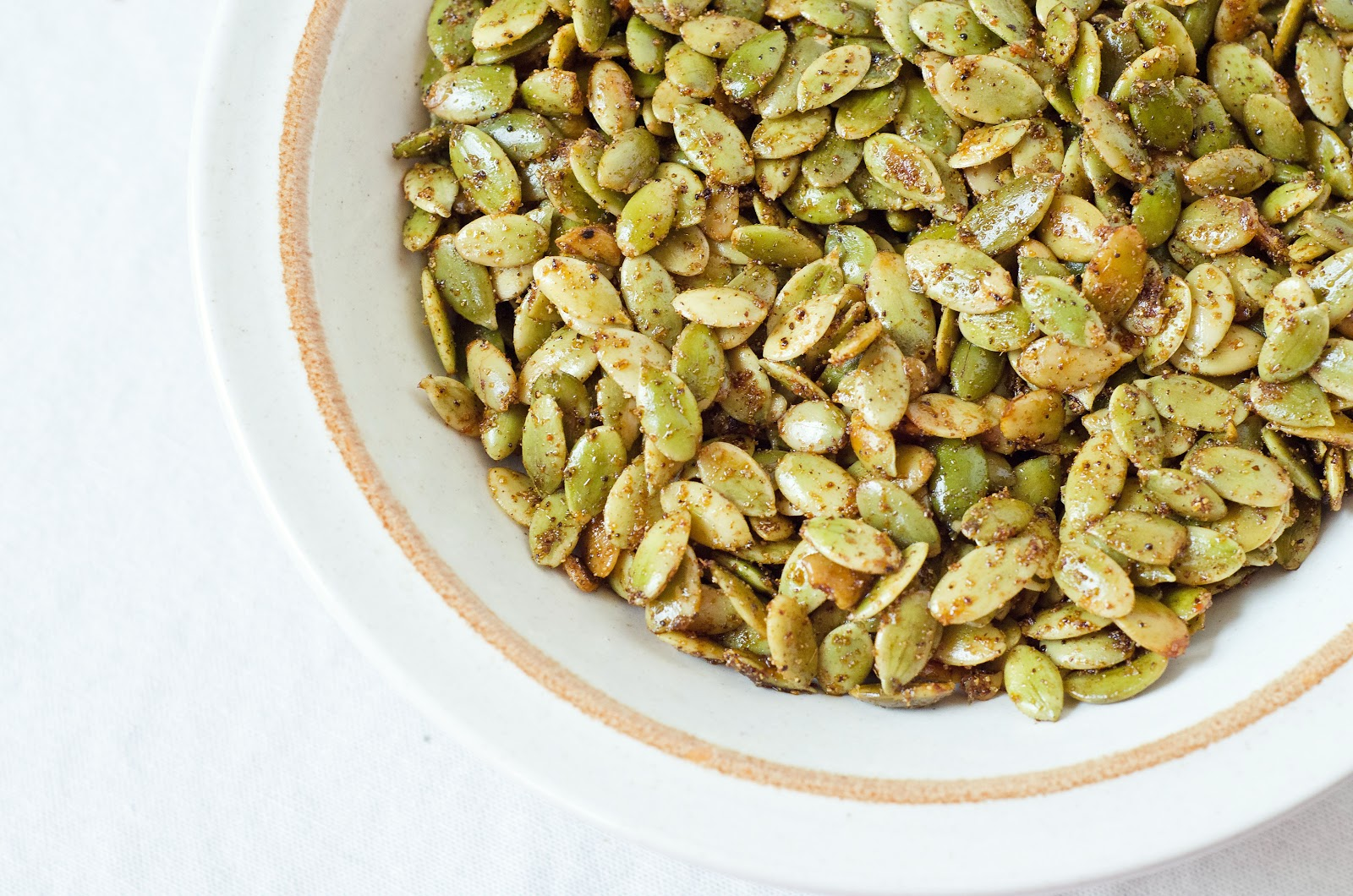 Chile Spiced Pumpkin Seeds - The Fig Tree